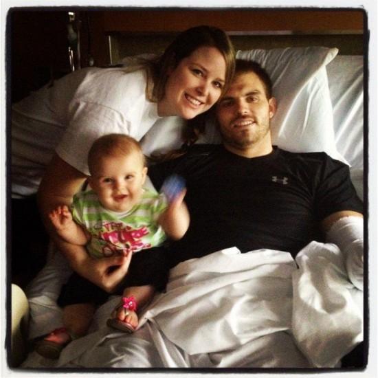 Kelsey, Travis, and Chloe Mills